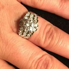 Hsn Victoria Wieck 925 Art Deco Inspired Engagement  Cz Engagement Ring Sz 7