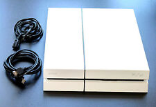 PLAYSTATION 4 KONSOLE 500GB EDITION WEISS + KABEL + HDMI PS4 white 500 GB weiß