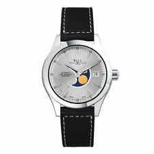 Ball Watch NM2082C-LJ-SL Engineer II Ohio Moonphase Silver Dial 40mm NWT $1999
