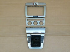 VW Passat 3C Sportline Decor Centre console Ashtray Radio Air silver Top