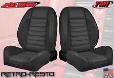 "Complete Seats - ""Sport R"" Universal - Low-back Bucket Seats w/ Brackets"