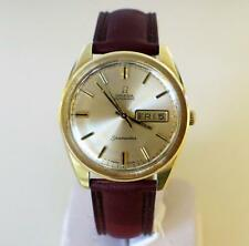 OMEGA SEAMASTER DAY DATE AUTOMATIC YELLOW GOLD CLAD VINTAGE 60'S WRISTWATCH