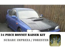 24pc bonnet raiser hood lift Subaru Impreza Forester BZR