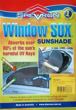 SHEVRON WINDOW SOX SUN SHADE HOLDEN COMMODORE VT VX VY VZ SEDAN #WS0087