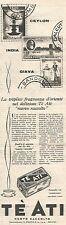 W8788 Tè Ati - Pubblicità del 1958 - Vintage advertising