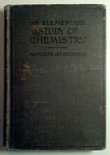 An Elementary Study of Chemistry by McPherson, William - 1906 - HC/VG -