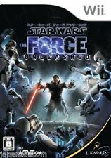 Used Wii Star Wars The Force  NINTENDO JAPAN JP JAPANESE JAPONAIS IMPORT