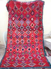 Moroccan Tribal rug from  Ourika Valley 272 x 146cm