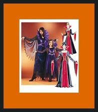 PATTERN McCALLS Black Widow Spider Vampiress Halloween Dress S to XL Womens 4151