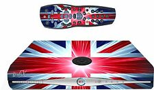 Union Jack Sticker/Skin SKY HD BOX & Remote controller/controll sticker, sk15
