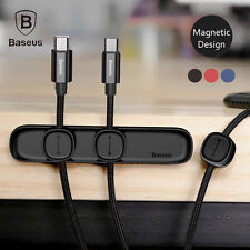Baseus Magnetic Cable Tidy Cord Organizer Wire Management Fixer Line Management
