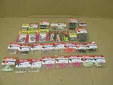 LOT OF 365 FISHING JIG HEADS 1/32 1/16 1/8 1/4 3/8 1/2 OUNCE OZ BLACK PINK GLOW