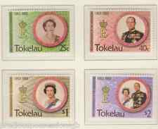 QEII QUEEN ELIZABETH II 40TH ANNIVERSARY OF CORONATION MNH STAMP SET TOKELAU
