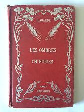 LES OMBRES CHINOISES GUIGNOL MARIONNETTES ILLUSTRE EMILE LAGARDE