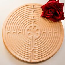 Finger-Labyrinth Fingerlabyrinth, Chartres Labyrinth, Ahornholz - maple wood