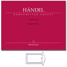 Orgelwerke  Händel / mit NotenKlammer  / BA11226 / 9790006559954