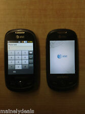 Lot of 2 Samsung SGH-A927 Flight II Smartphones Cell Phones both work AS IS