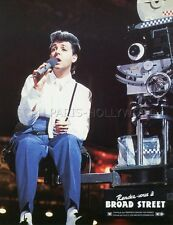 PAUL McCARTNEY GIVE MY REGARDS TO BROAD STREET 1984 VINTAGE LOBBY CARD #3