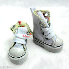 Taeyang Obitsu 1/6 Male Bjd Dollfie Hujoo Berry Doll Folded Sneaker Shoes White