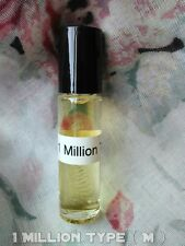 1 Million Type For Men ( M ) Pure Perfume Body Oil 1/3 oz  Roll - On