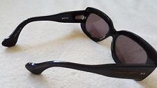 NEW DITA Rouen 2207A Rectangle Sunglasses Black Swirl Frame Made in Japan