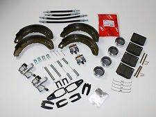 BRAKE OVERHAUL SET FRONT & REAR TRIUMPH TR6 (16PB TYPE CALIPERS)