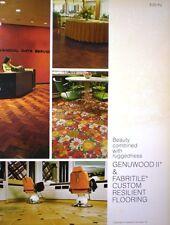 Parkwood Laminates GENUWOOD Vinyl Tile ASBESTOS Flooring GE General Electric '76