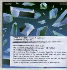 (CU295) Rustie, Surph ft Nightwave - 2012 DJ CD