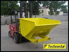 Kippmulde, Muldenkippbehälter, Muldenkipper, Kippcontainer 2200 l  / 1500 kg