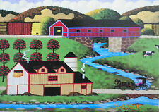 PUZZLE...JIGSAW...HERONIM..Covered Bridge..1000.....Nvr opned