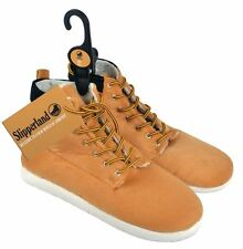 Slipperland Men's Slippers - UK Size 10 Timberland Hi-Top Style Boot Indoor