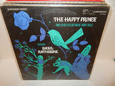 THE HAPPY PRINCE And Other Oscar Wilde Fairy Tales read BASIL RATHBONE LP SEALED