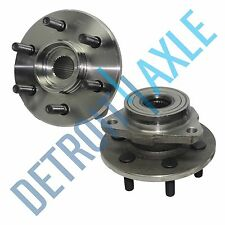Pair (2) NEW Front Suspension Wheel Hub and Bearing Assembly 4WD AWD 2-Wheel ABS