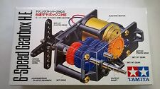 TAMIYA EDUCATIONAL 6-SPEED GEARBOX H.E. ART 72005
