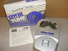 **QUIK TUNE** QT-10 Automatic GUITAR  & BASS TUNER-**HANDS FREE**
