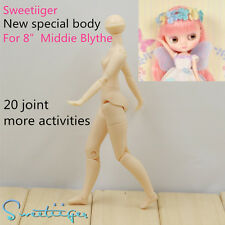 "Sweetiiger special new body joited not azone 8"" Middie Blythe doll Custom Use"