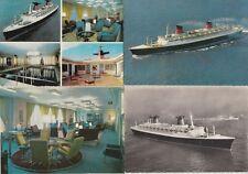 PAQUEBOT SS Steamer France 67 Vintage Cartes-Postales 1950-1970 (31 pre-1940)