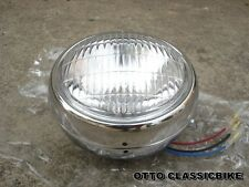 Headlight + Chrome Case Yamaha CHAPPY LB50 LB80    //  Brand New
