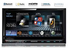 "Kenwood DDX9902S 7"" CarPlay+Android  2-DIN Bluetooth DVD Receiver HD Radio RB"