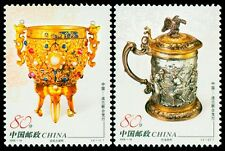 China Stamp 2006-18 Gold and Silver vessels (Joint Issue of China and Poland MNH