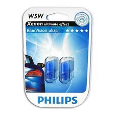 PHILIPS BLUE VISION ULTRA Standlicht Weiß W5W Xenon Effekt Audi A3 A4 A6 A8 Q5