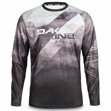 Dakine thrillium DH Downhill Mountain Bike Long Sleeve Jersey black white Large