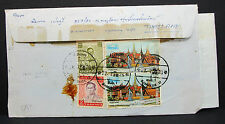 Thailand Express Airmail Letter to Japan Luftpost Flugpost Brief Asien (L-2306
