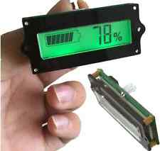 1PC 12V lead-acid battery tester battery power display power display panel GREEN