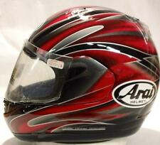 Arai Signet GTR Forte Red silver gray motorcycle helmet-full face New Q Small