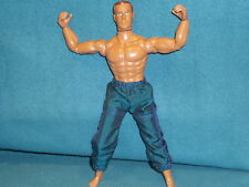 """STRONG MAN MAX STEEL'S FRIEND FAIRLAND TOY 12"""" ACTION FIGURE LOOKS GREAT"""