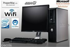 "Dell Desktop Optiplex 780 Pc Intel Quad Core Cpu 1 TB HD 16 Ddr3 19"" TFT Wi-Fi"