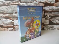 DISNEY PETER PAN : RETURN TO NEVER LAND DVD  - FAST/FREE POSTING.