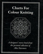 Knitting Pattern Alice Starmore Charts for Colour Knitting Hardcover