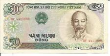 Vietnam 50 Dong 1985 P-96. Unc Condition. 4Rw 26 Set
